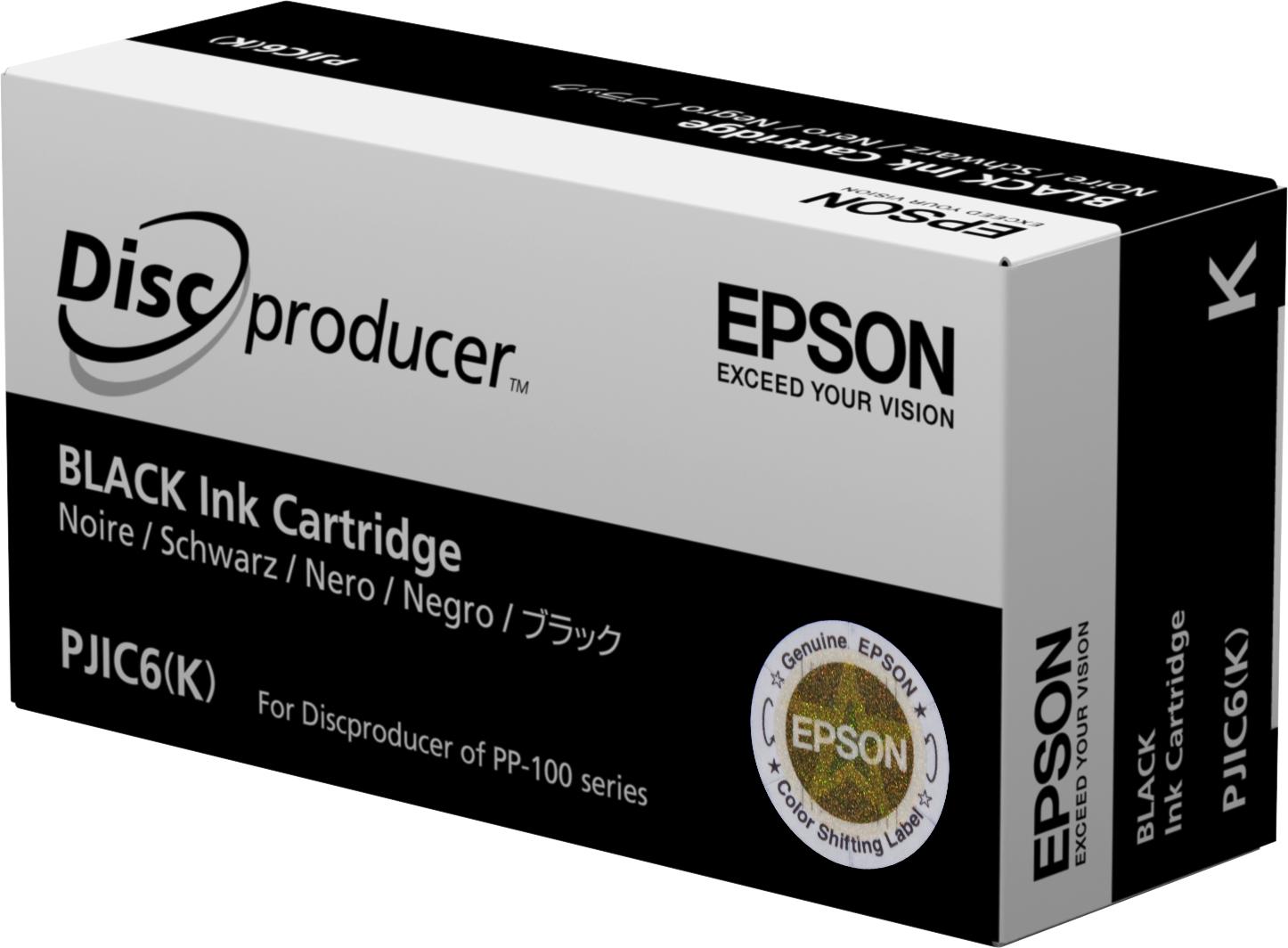Epson Cartucho Discproducer negro (cantidad mínima=10)