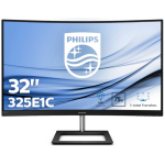 "Philips E Line 325E1C/00 computer monitor 80 cm (31.5"") 2560 x 1440 pixels Quad HD LCD Curved Black"