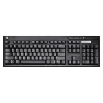HP 697737-041 USB QWERTZ German Black keyboard