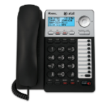 AT&T ML17929 telephone Analog telephone Caller ID Black, Silver