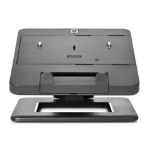 "HP E8F99UT 17.3"" Black notebook arm/stand"