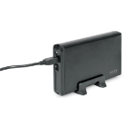 "Port Designs 900032 SSD enclosure 3.5"" Zwart opslagbehuizing"