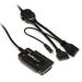 StarTech.com Adaptador Combo SATA IDE a USB 2.0 para Disco Duro y SSD con Alimentación - SATA - IDE - LP4 - USB A