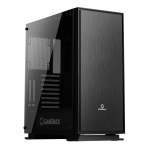 GAMEMAX Muted Silent Mid-Tower Gaming Case With Full Acrylic Side Window