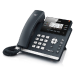 Yealink T41P-SFB Wired handset LCD Black IP phone