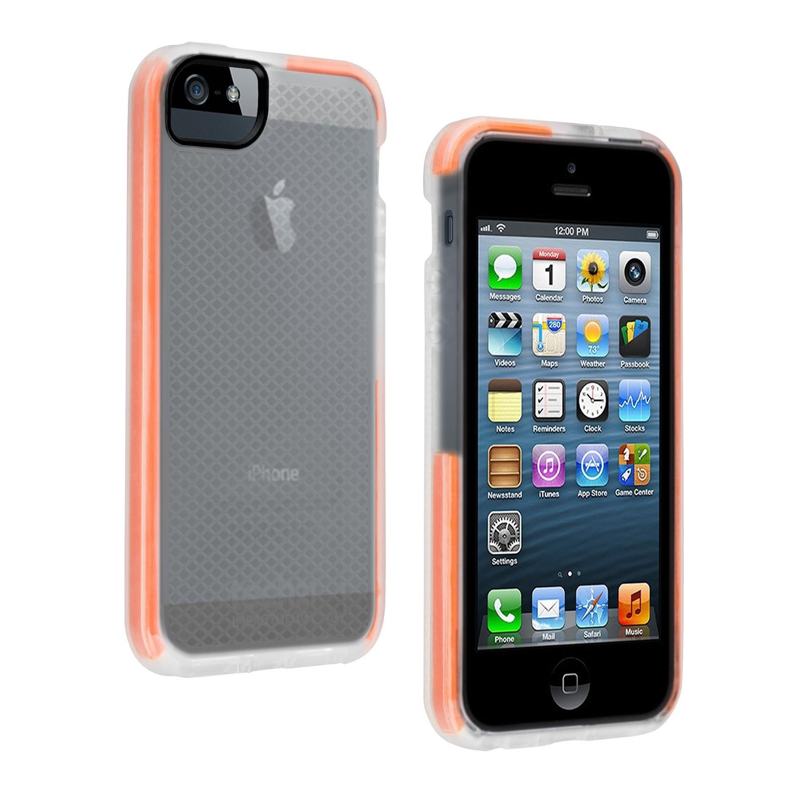 Tech21 T21-3879 Cover Grey,Orange,Transparent mobile phone case