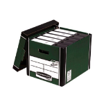 Bankers Box Fellowes Premium Presto Tall Box Green PK10