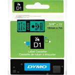 DYMO 45809 (S0720890) DirectLabel-etikettes, 19mm x 7m