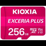 Kioxia Exceria Plus memory card 256 GB MicroSDXC Class 10 UHS-I LMPL1M256GG2