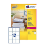 Avery L7164-100 addressing label White Self-adhesive label