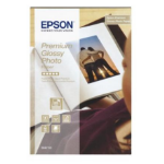 Epson Premium Glossy Photo Paper, 100 x 150 mm, 255g/m², 40 Vel