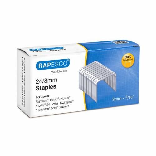 Rapesco S24807Z3 staples Staples pack 5000 staples