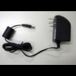 Plustek Z-0123 Indoor 8W Black power adapter/inverter