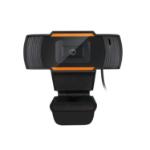 Adesso CyberTrack H2 webcam 640 x 480 pixels USB 2.0 Black, Orange