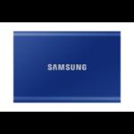 Samsung Portable SSD T7 2000 GB Blauw