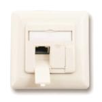 M-Cab 7006666 socket-outlet 2 x RJ-45 White