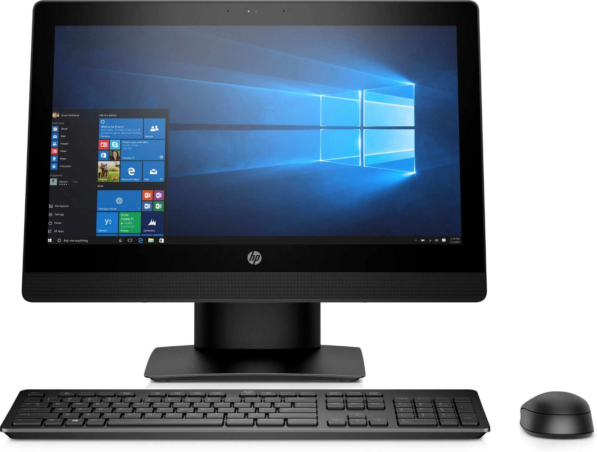HP ProOne 400 G3 20-inch Touch All-in-One PC