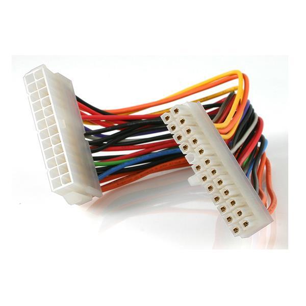 StarTech.com Cable 20cm ATX 2.01 extensor de alimentacion ATX 2.01 24pin