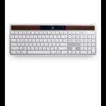 Logitech K750 RF Wireless QWERTY English Silver keyboard