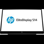 "HP EliteDisplay S14 35.6 cm (14"") 1920 x 1080 pixels Full HD LED Black"