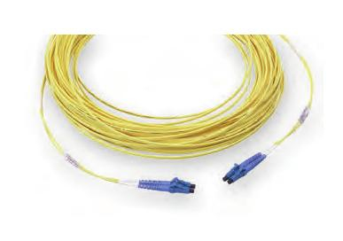 AMP 1-6536969-0 fibre optic cable 10 m OM3 LC Yellow