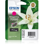 Epson C13T05934010 (T0593) Ink cartridge magenta, 520 pages, 13ml
