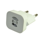 2-Power ALT0325A electrical power plug White
