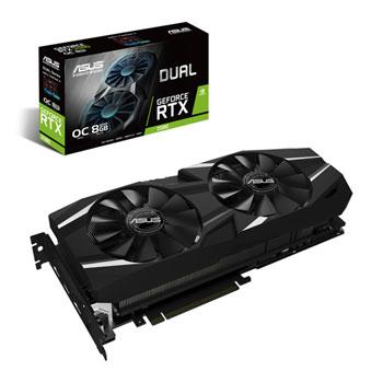 ASUS GeForce RTX 2080 DUAL OC 8GB GDDR6 VR Ready Graphics Card **PRE-ORDER**