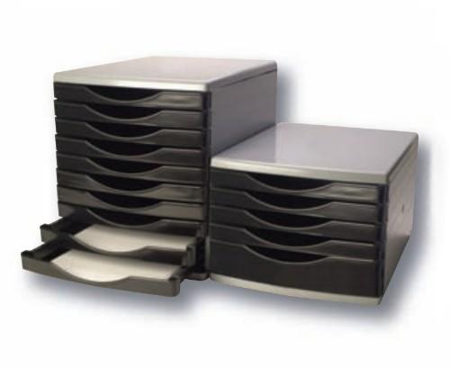 Q-CONNECT KF02253 desk drawer organizer Plastic Black