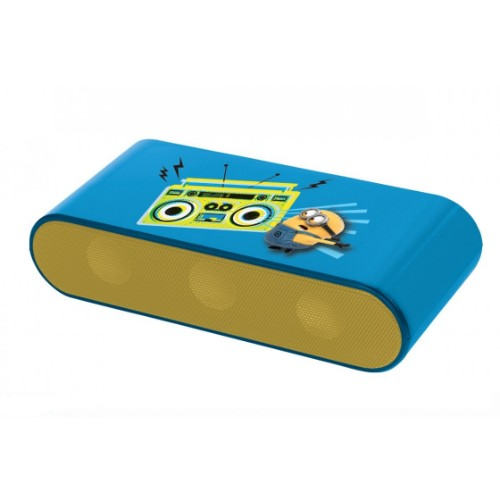 Lexibook Minions Stereo portable speaker 6W Blue, Yellow
