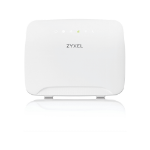 Zyxel LTE3316 wireless router Gigabit Ethernet Dual-band (2.4 GHz / 5 GHz) 4G White