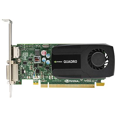 HP J3G86AT NVIDIA NVIDIA Quadro K420;: GK107,192 CUDA core; Power: 41W 1GB graphics card