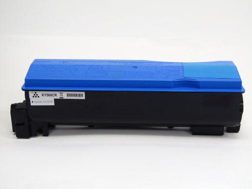 Remanufactured Kyocera TK560C Cyan Toner Cartridge