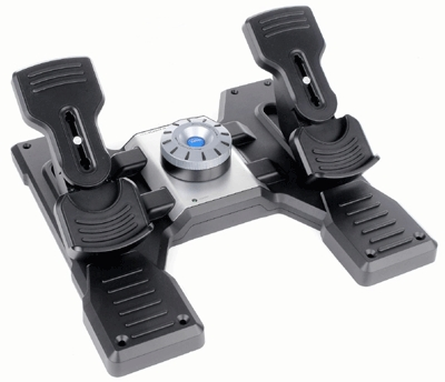 Logitech Pro Flight Rudder Pedals Flight Sim