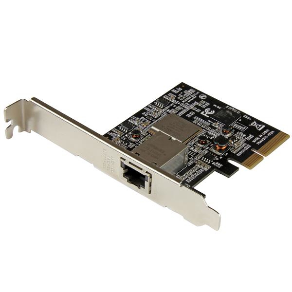 StarTech.com 1-Port PCIe 10GBase-T / NBASE-T Ethernet Network Card