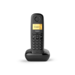 Gigaset A170 Teléfono DECT Black Identificador de llamadas