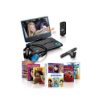 "Lenco DVP-910BU portable DVD/Blu-Ray player Portable DVD player Convertible Black, Blue 22.9 cm (9"")"