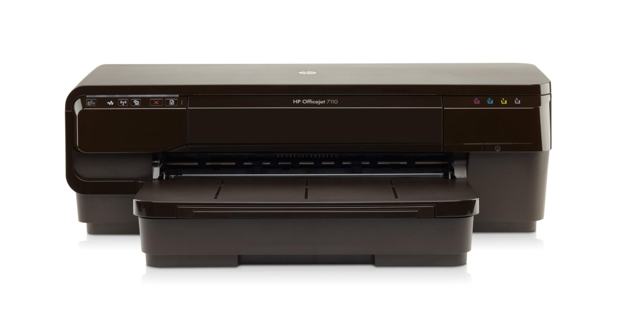 HP Officejet 7110 H812a inkjet printer Colour 4800 x 1200 DPI A3 Wi-Fi