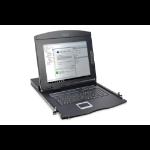 "Digitus Modular console with 17"" TFT (43,2cm), 16-port KVM & Touchpad, italian keyboard"