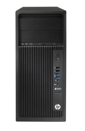 HP Workstation Z240 Tower Y3Y80ET#ABU Core i7-7700 8GB 256GB SSD DVDRW Win 10 Pro