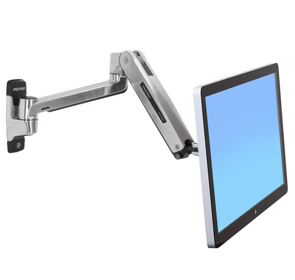 "Ergotron LX HD Sit-Stand 116,8 cm (46"") Plata"