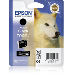 Epson C13T09614010 (T0961) Ink cartridge black, 495 pages, 11ml