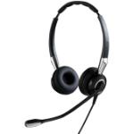 Jabra Biz 2400 II QD Duo UNC Headset Hoofdband Zwart, Zilver