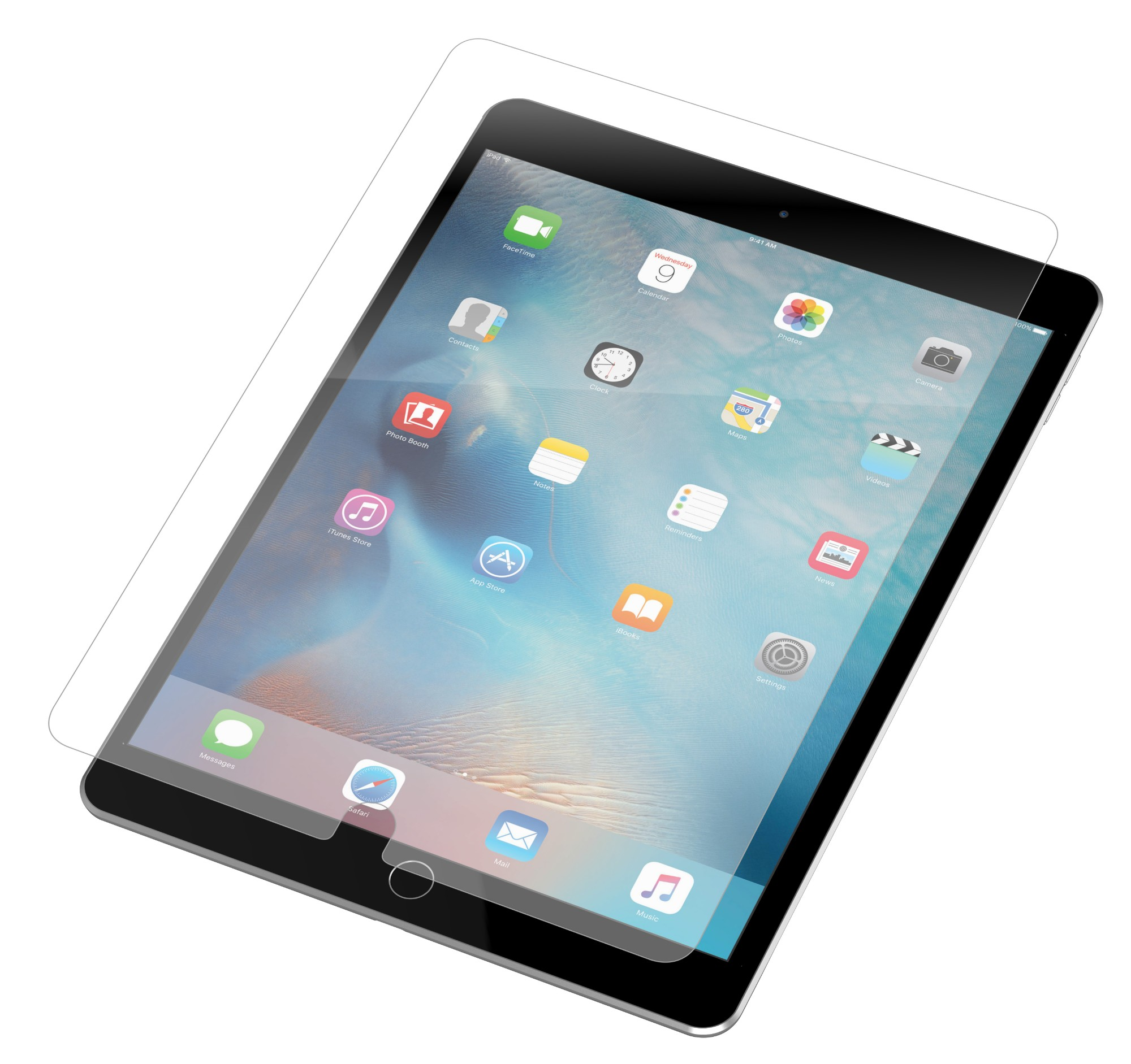 InvisibleShield Glass+ Clear screen protector Tablet Apple 1 pc(s)