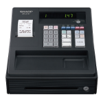 Sharp XEA-147BK LED cash register
