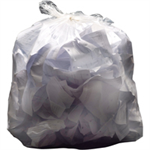2WORK LT DTY REFUSE SACKS CLR 90L PK200
