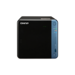 QNAP TS-453Be Ethernet LAN Tower Black,Blue NAS