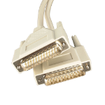 Videk 1120 2m DB25M DB25M Beige serial cable