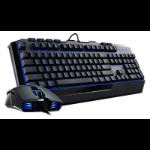 Cooler Master Devestator II USB QWERTY UK English Black keyboard