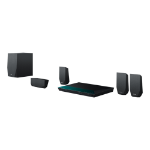 SONY BDV-E2100 3D BluRay Theatre System 5.1 800w WiFi - Black